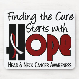 Head and Neck Cancer HOPE 4 Mouse Pad