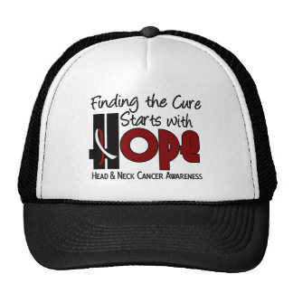 Head and Neck Cancer HOPE 4 Trucker Hats