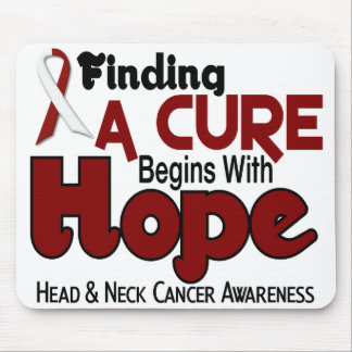 Head and Neck Cancer HOPE 5 Mouse Mat