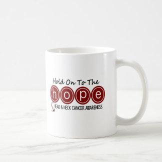 Head and Neck Cancer HOPE 6 Coffee Mugs
