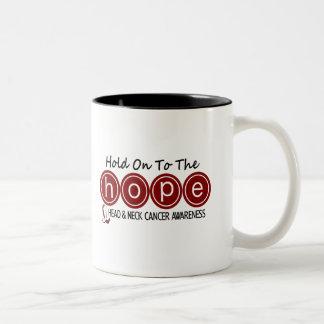 Head and Neck Cancer HOPE 6 Mug
