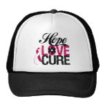 Head and Neck Cancer HOPE LOVE CURE Gifts Hats