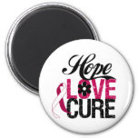Head and Neck Cancer HOPE LOVE CURE Gifts Fridge Magnets