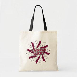 Head and Neck Cancer Sucks Budget Tote Bag