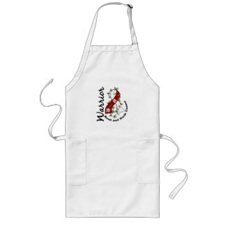 Head and Neck Cancer Warrior 15 Long Apron