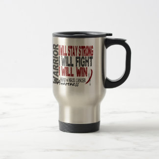 Head And Neck Cancer Warrior Mugs
