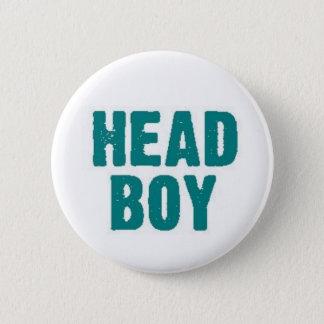 Head Boy 6 Cm Round Badge