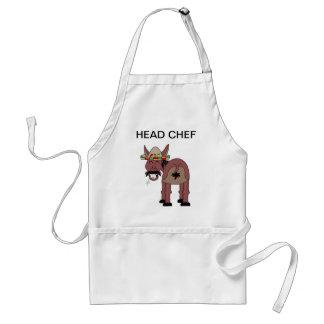 Head chef apron