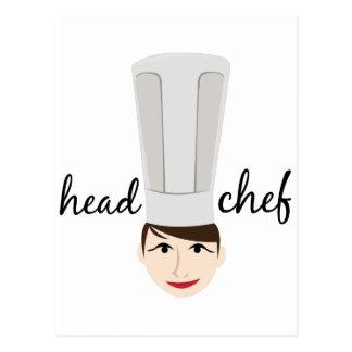 Head Chef Postcard