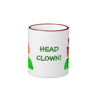 HEAD Clown Ceramic Mug