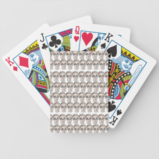 head deck of cards