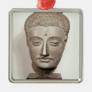 Head from a statue of the Buddha, from Christmas Ornament