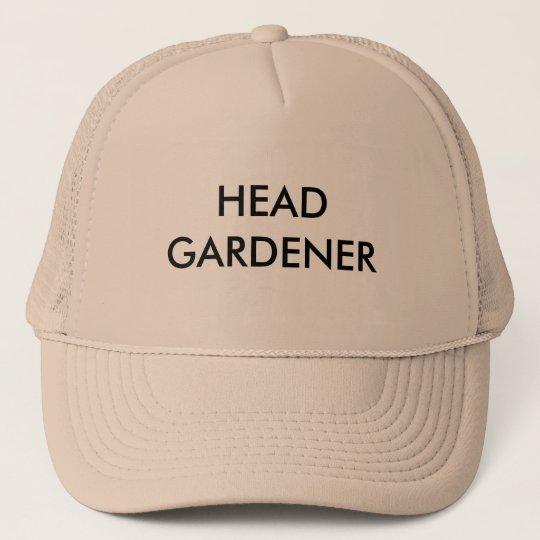 HEAD GARDENER TRUCKER HAT