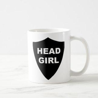 Head Girl Basic White Mug