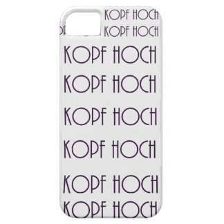 Head high iPhone 5 case