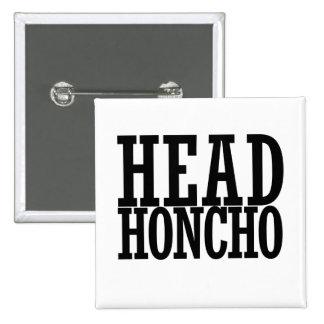 Head HONCHO 15 Cm Square Badge