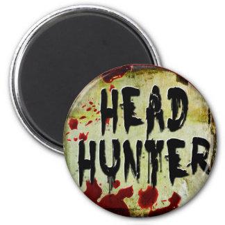 Head Hunter Fridge Magnet