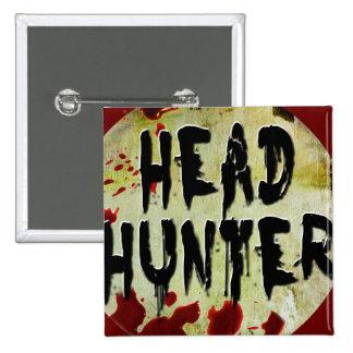 Head Hunter Pinback Button