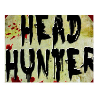 Head Hunter Postcards