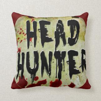 Head Hunter Throw Cushion