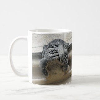 Head-in-hands gargoyle mug