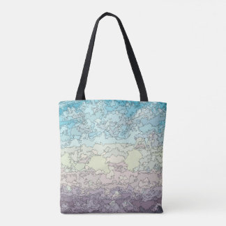 HEAD IN THE CLOUDS - COLOR TOTE BAG