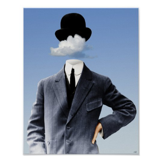 """""""Head In The Clouds"""" Poster"""