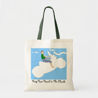 Head in the Clouds - Tote Budget Tote Bag
