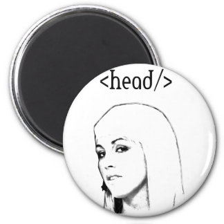 Head keyword 6 cm round magnet