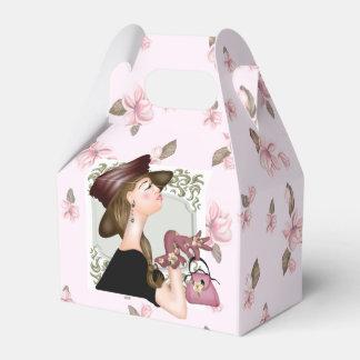 HEAD MODEL CARTOON GABLE Favor Box Party Favour Boxes