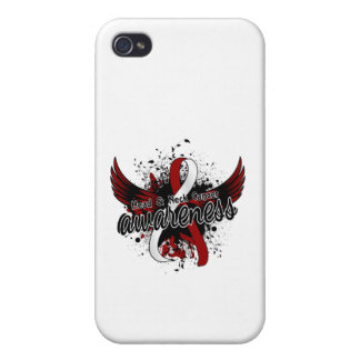 Head Neck Cancer Awareness 16 iPhone 4/4S Cover