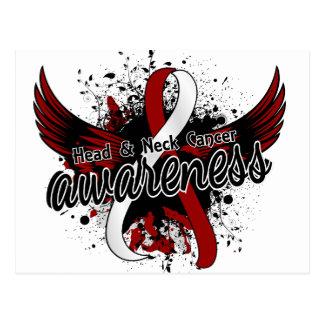 Head Neck Cancer Awareness 16 Postcard