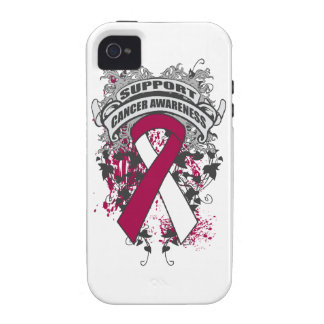 Head Neck Cancer - Cool Support Awareness Slogan iPhone 4/4S Covers