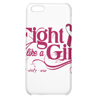 Head Neck Cancer Fight Like A Girl Elegant Cover For iPhone 5C