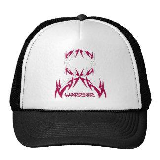 Head Neck Cancer Mens Warrior Tribal Mesh Hats