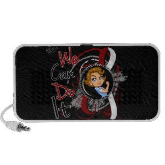Head Neck Cancer Rosie Cartoon WCDI png Speaker System