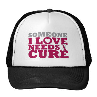 Head Neck Cancer Someone I Love Needs A Cure Trucker Hats