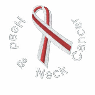 Head & Neck Cancer - Support Embroidered Polo Shirts