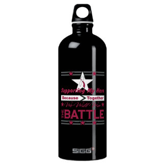 Head Neck Cancer Supporting My Hero SIGG Traveller 1.0L Water Bottle
