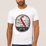 Head Neck Cancer Survivor Mens Vintage Tshirts