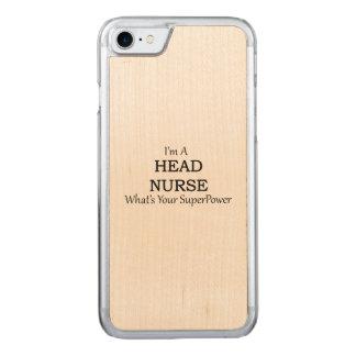 HEAD NURSE CARVED iPhone 8/7 CASE