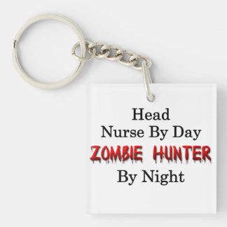Head Nurse/Zombie Hunter Single-Sided Square Acrylic Key Ring