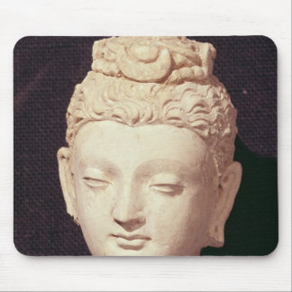Head of a Buddha, Greco-Buddhist style Mouse Mat