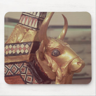 Head of a bull, decoration from a harp 2 mouse pad
