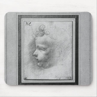 Head of a child mouse mat