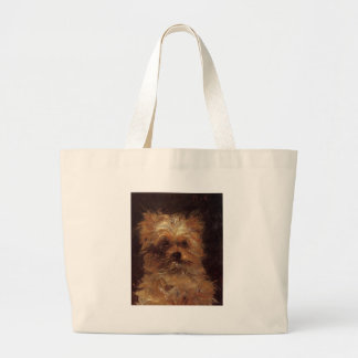 Head of a Dog by Edouard Manet Jumbo Tote Bag