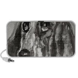 Head of a Dog Running, 1880 Mini Speaker
