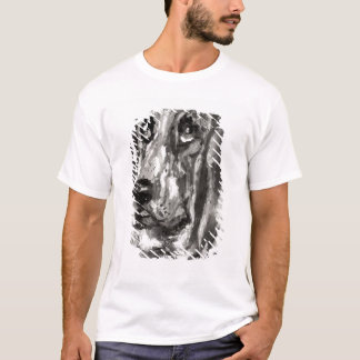 Head of a Dog Running, 1880 T-Shirt