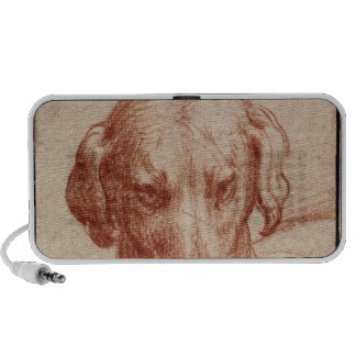 Head of a Dog Travelling Speaker