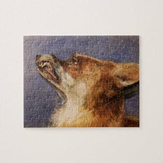 Head of a Fox Jigsaw Puzzle